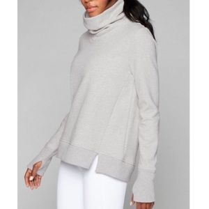 Athleta Funnel Fleece Sweatshirt